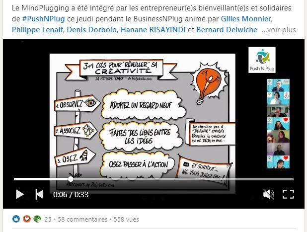 BusinessNPlug 17/03/2021 : la créativité