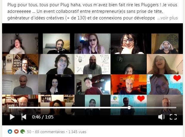 PlugRoom du 4/03/2021