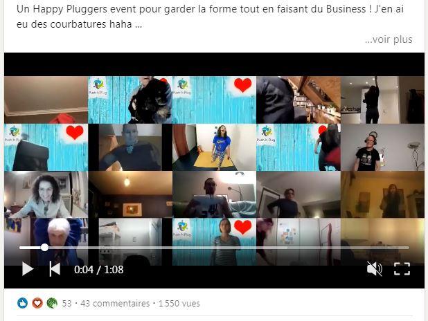 Happy Plugger Event : Gardons la forme du 23/02/2021