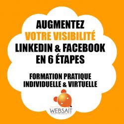 PUSH : Augmentez votre visibilité LinkedIn & Facebook en 6 étapes
