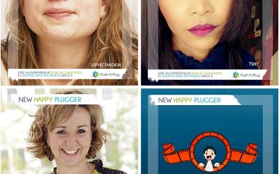 Les Mardi du New Plugger : Sophie FANCHON, Tsiky, Maud GÉRARD, Jeoffrey VIGNERON de LAWGITECH