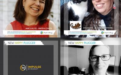 Les Mardi du New Plugger : Anne GUILLOU, Alexandra VERVENNE, Vincent LEPAGE, Béatrice STORMS