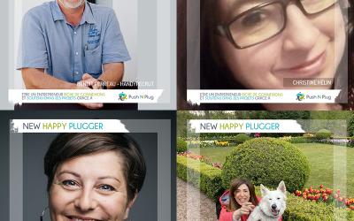 Les Mardi du New Plugger : Benoît PERREAU, Christine HÉLIN, Anne GOBLED, Maysam CORTAS