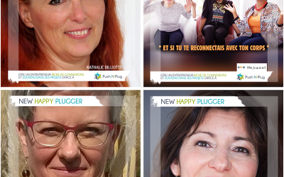 Les Mardi du New Plugger : Nathalie BILLIOTTE, Evelyne MVUEZOLO, Nathalie WAUTELET,