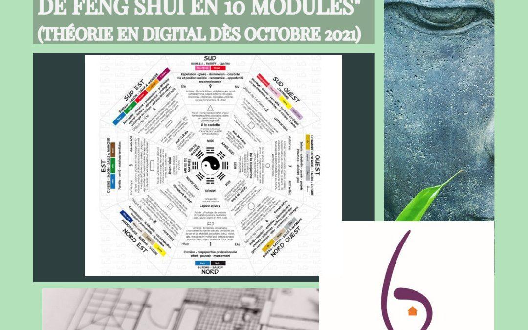 PUSH : Cours digital de Feng Shui en 10 modules (session III)
